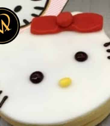 Hello Kitty Cookies – super easy