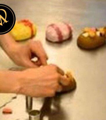 Ostereier aus Cake Balls