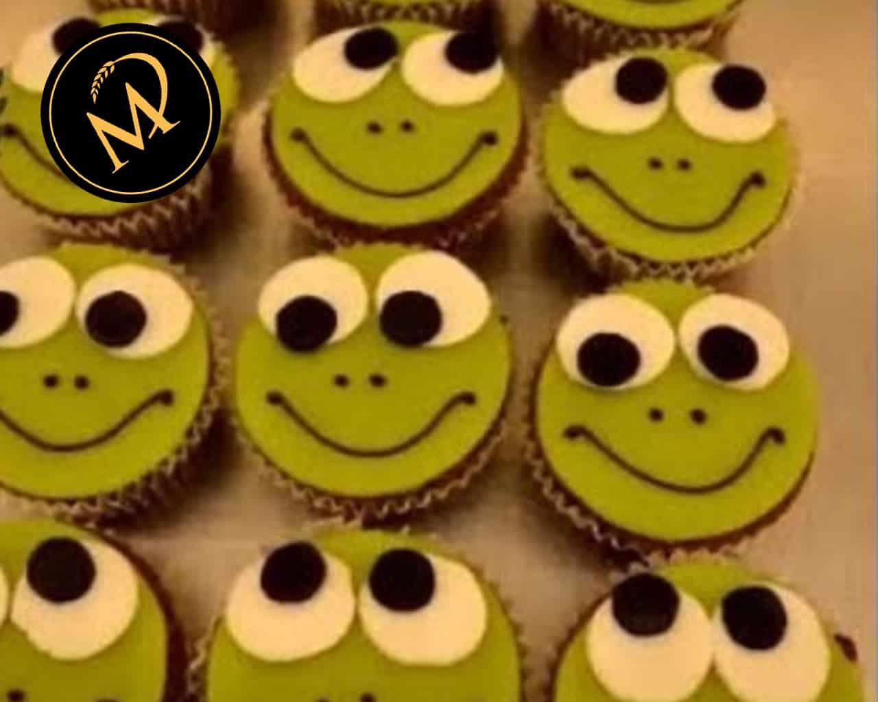Schoko Frosch Cupcakes - Rezept Marcel Paa