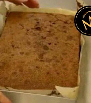 Schokoladen Biskuit für Motivtorten