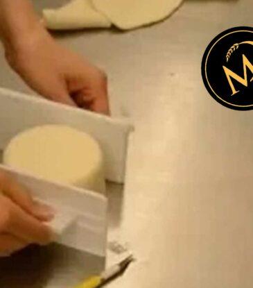 Torte mit Rollfondant RICHTIG einschlagen