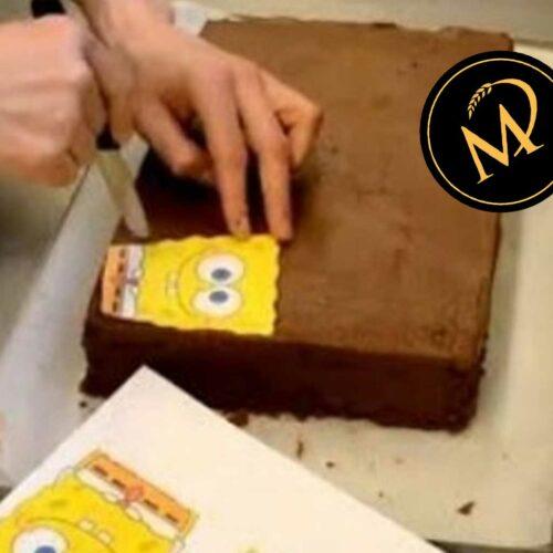 Tortenaufbau für Motivtorten - Rezept Marcel Paa