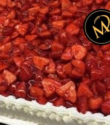 Erdbeer Quark Torte – einfach fruchtig