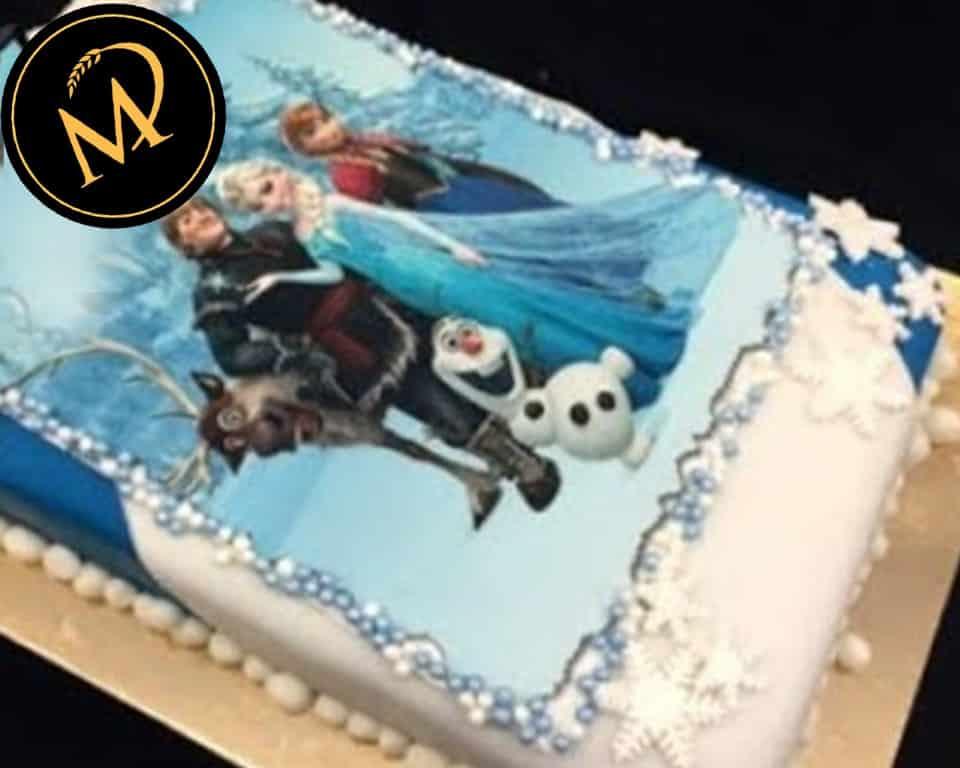 Frozen Eiskönigin Foto Torte - Rezept Marcel Paa