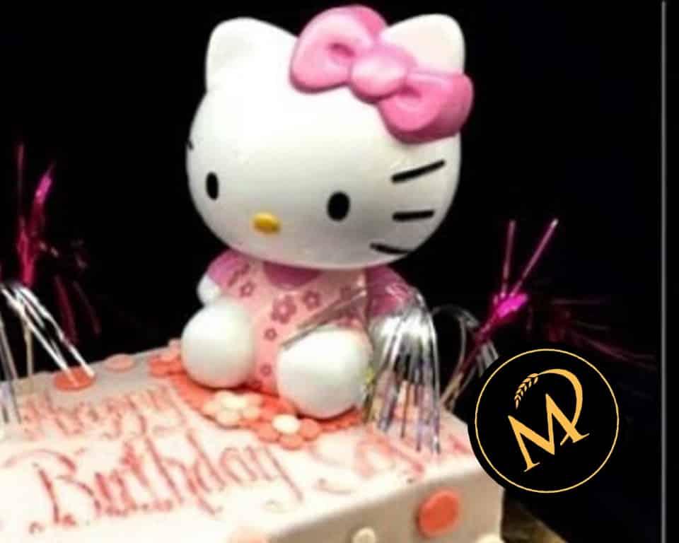 Hello Kitty Torte mit Spardose - Rezept Marcel Paa