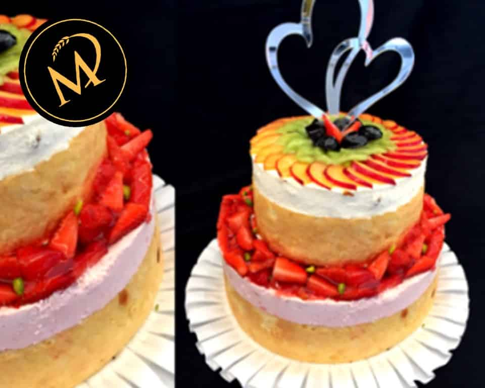 Hochzeitstorte Naked Cake - Rezept Marcel Paa