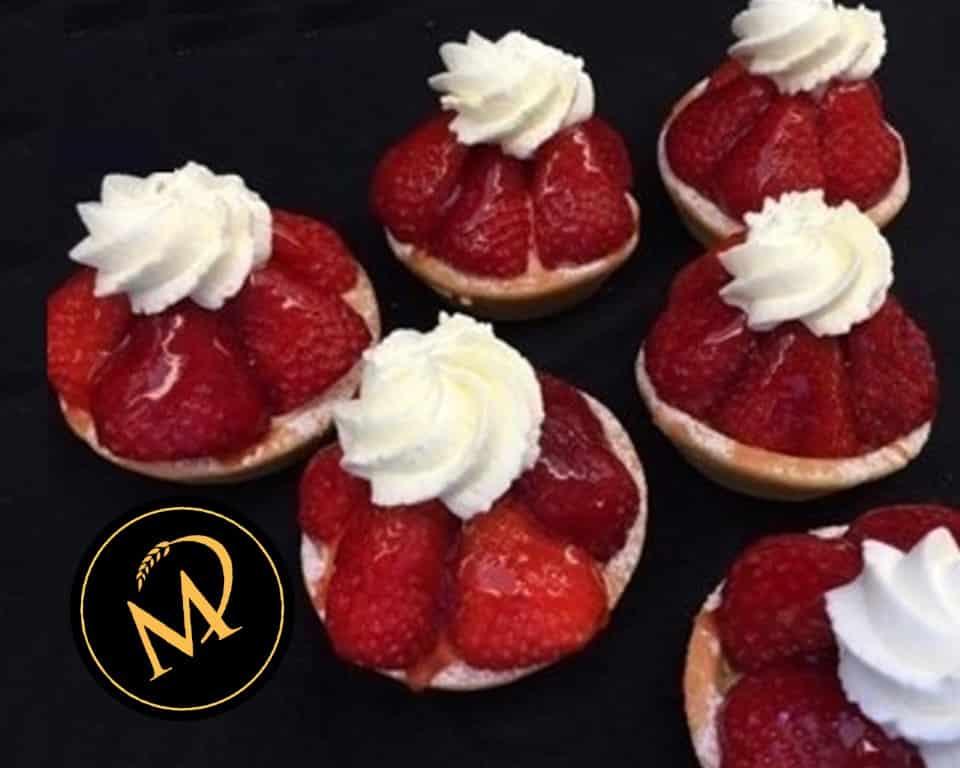 Erdbeer Törtchen - Rezept Marcel Paa
