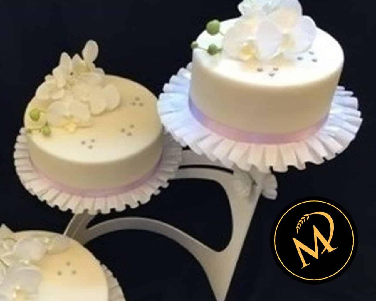 Hochzeitstorte mit echten Orchideen - Rezept Marcel Paa