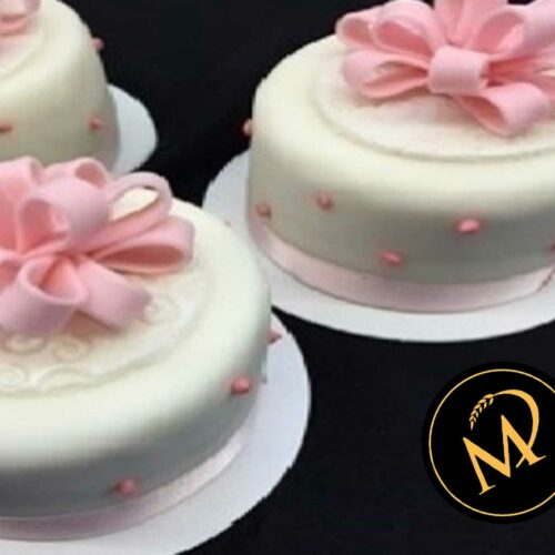 Mini Princess Cake mit Vanille Creme