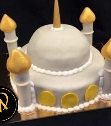 3D Moschee Motivtorte
