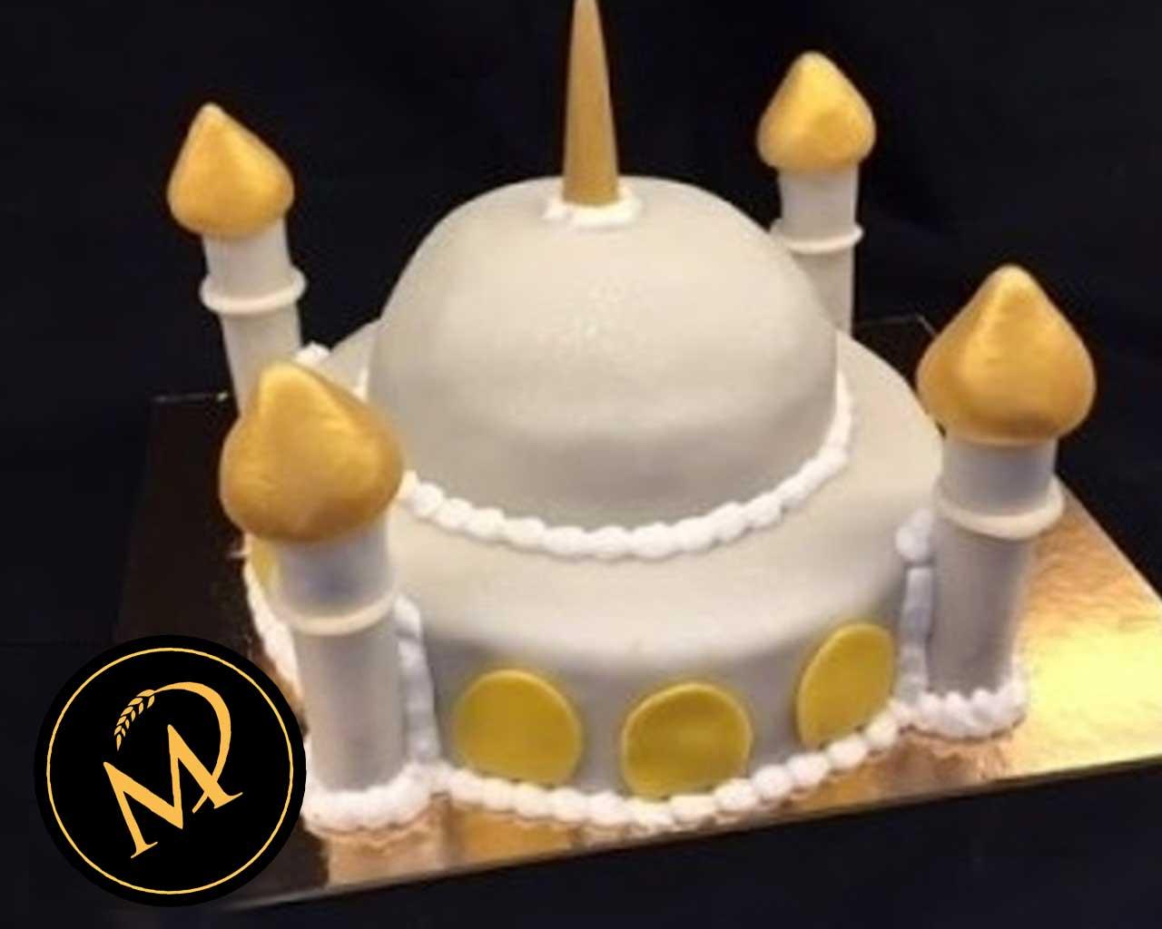 3D Moschee Motivtorte - Rezept Marcel Paa