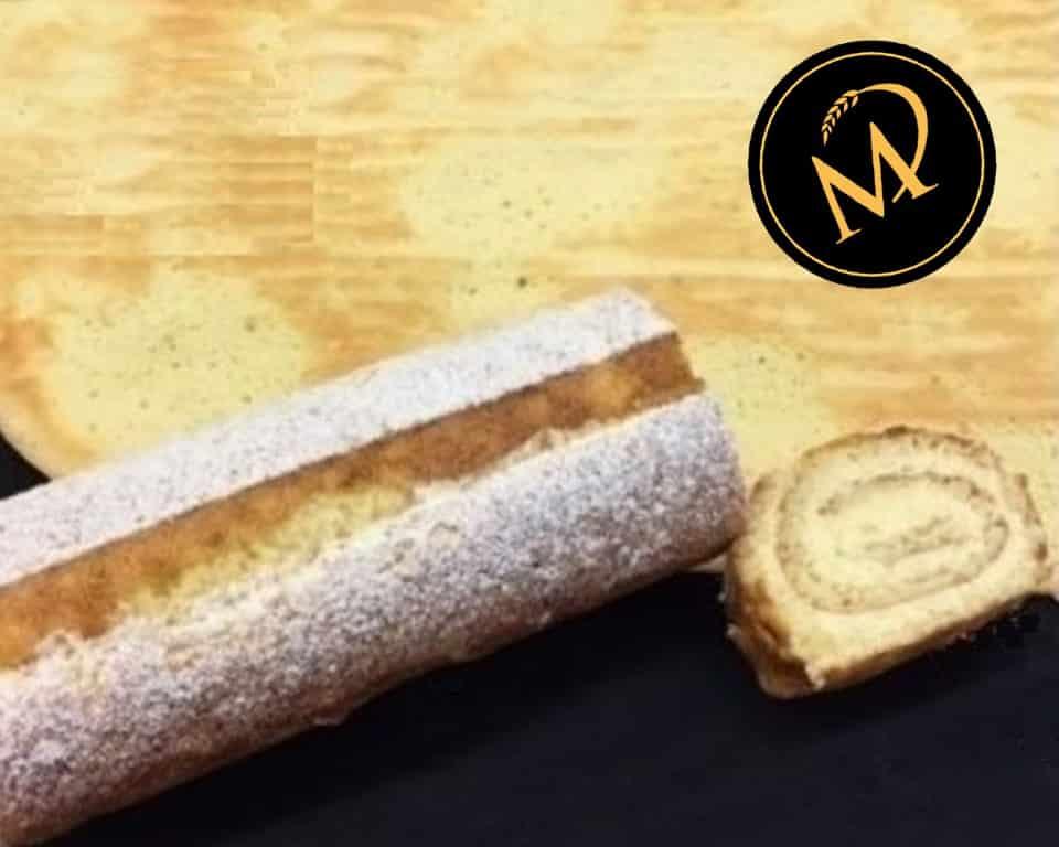 Biskuit Roulade - Biskuitrolle - Rezept Marcel Paa