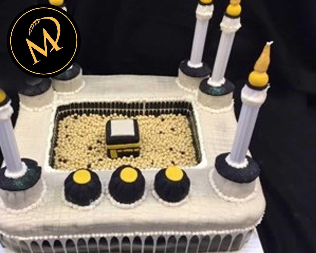 3D Moschee Mekka Torte - Rezept Marcel Paa