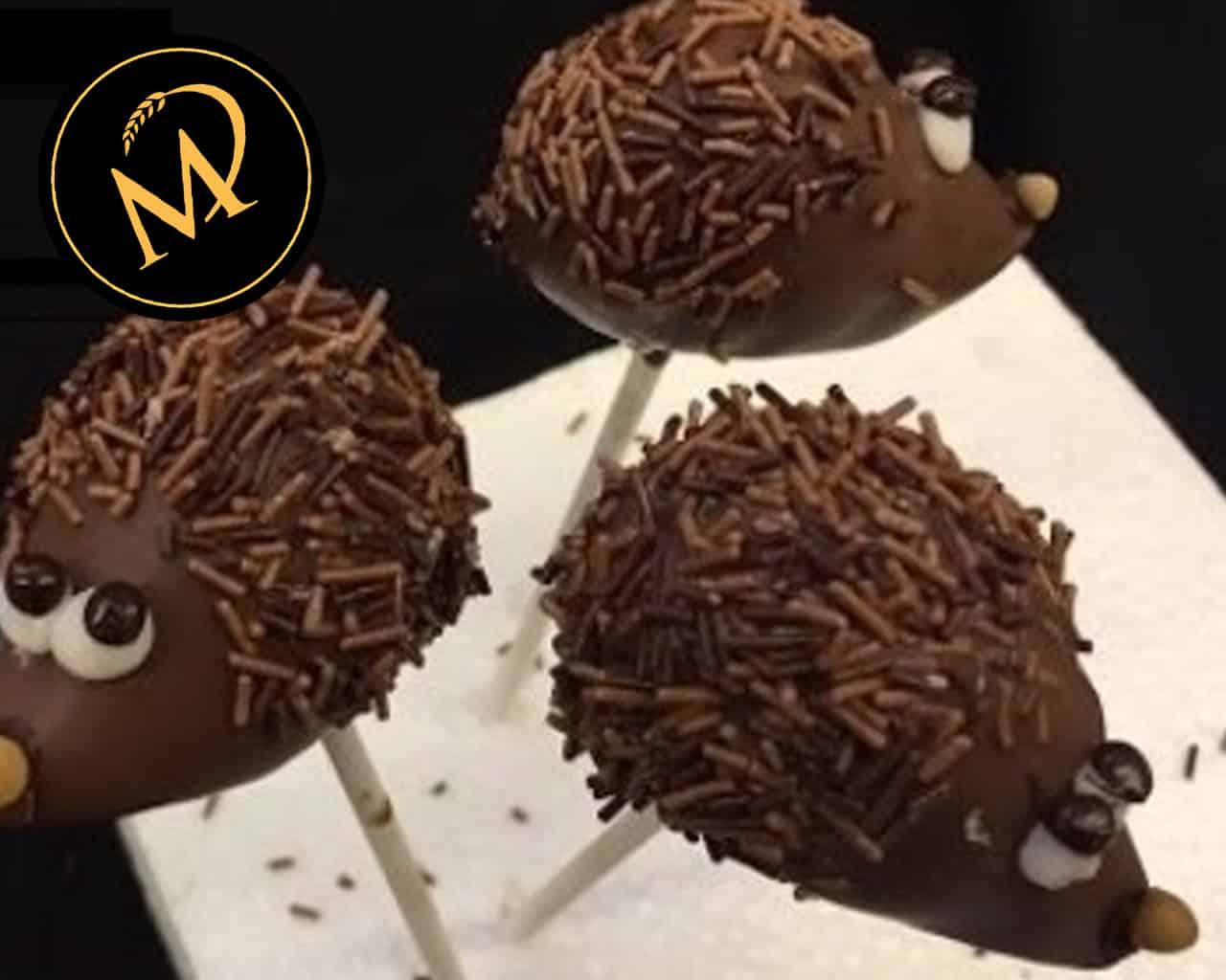Igel Cake Pops - hedgehog - Rezept Marcel Paa