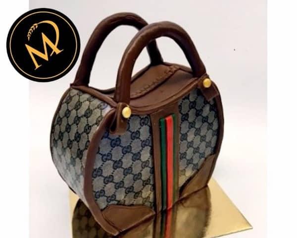 3D Designer Handtaschen Torte - Rezept Marcel Paa