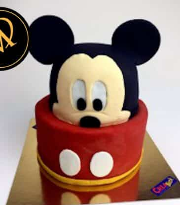 3D Mickey Mouse Torte