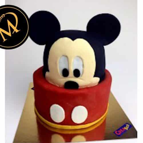 3D Mickey Mouse Torte - Rezept Marcel Paa