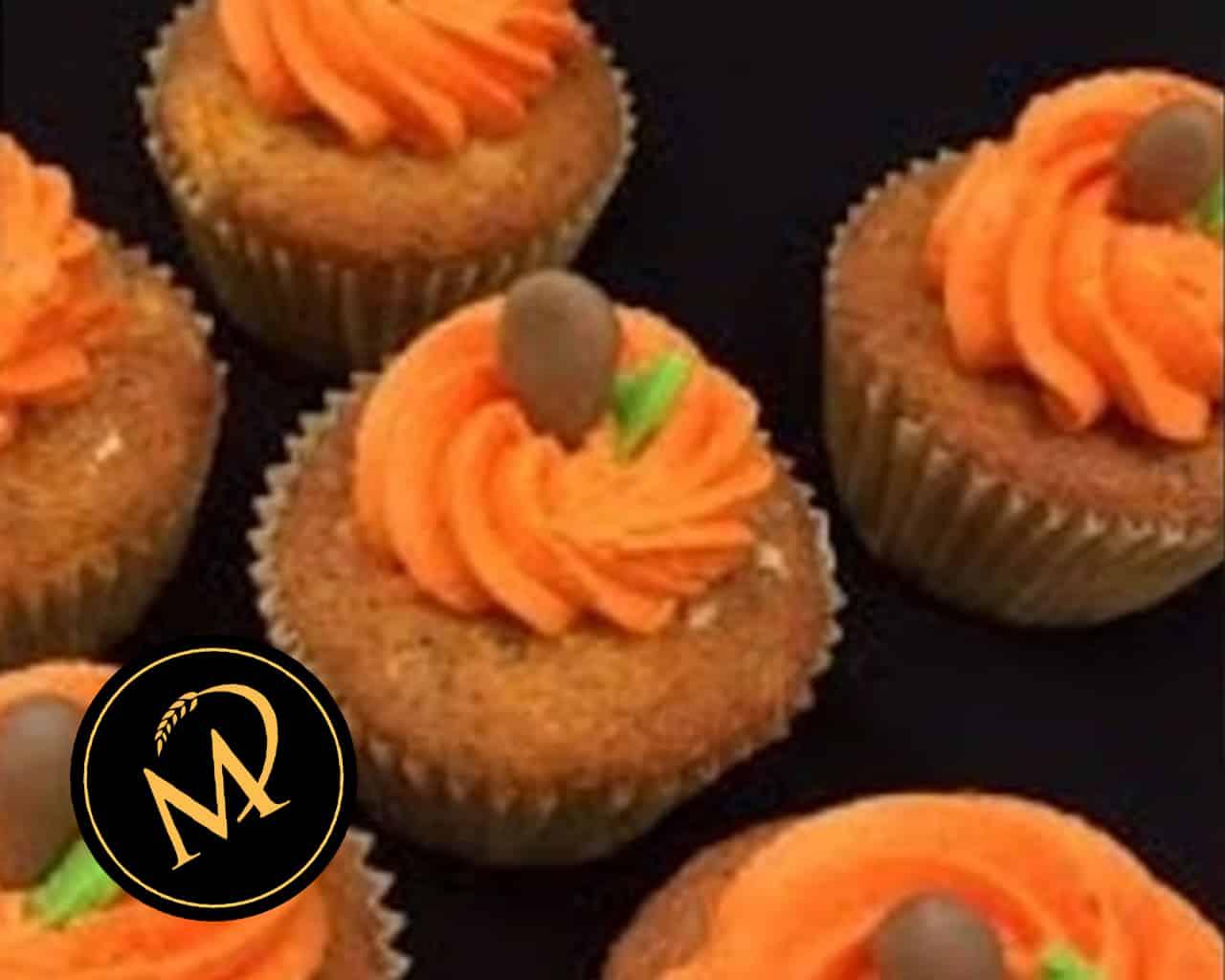 Kürbis Cupcakes - Rezept Marcel Paa