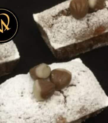 Mini Maroni Kuchen – Kastanienkuchen