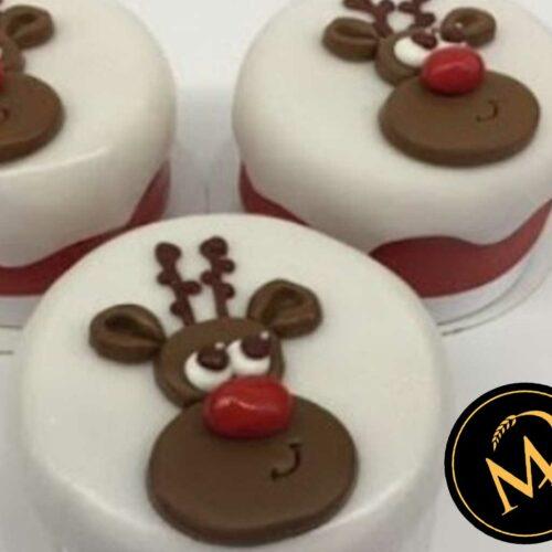 Mini Törtchen Rudolf the red nosed reindeer- Rezept Marcel Paa