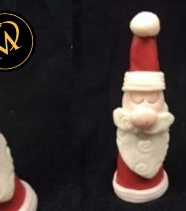 Weihnachtsmann aus Kuchen