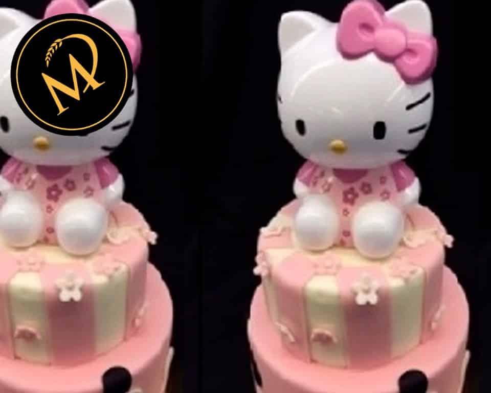 2-stöckige Hello Kitty Torte - Rezept Marcel Paa