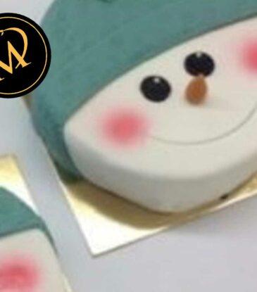 Weihnachts Schneemann Torte