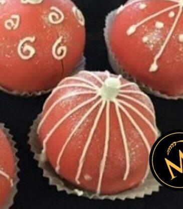 Weihnachts Kugeln Cake Balls