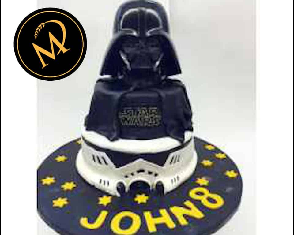 2-stöckige Star Wars Torte - Rezept Marcel Paa