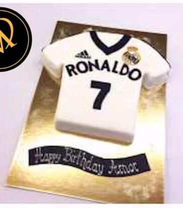 3D Ronaldo Fussball Trikot Torte