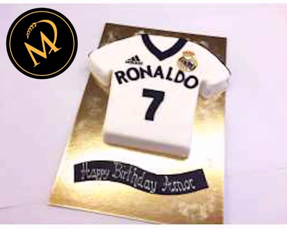 3D Ronaldo Fussball Trikot Torte - Rezept Marcel Paa