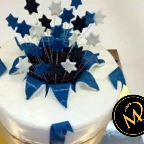 Blaue Explosionstorte - Rezept Marcel Paa