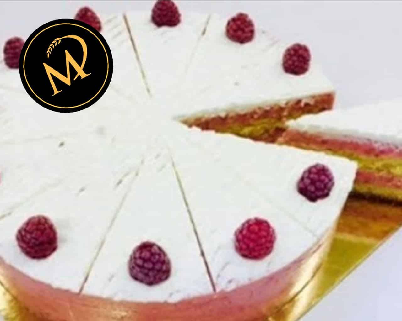 Himbeer Joghurt Torte mit Agar Agar - Rezept Marcel Paa
