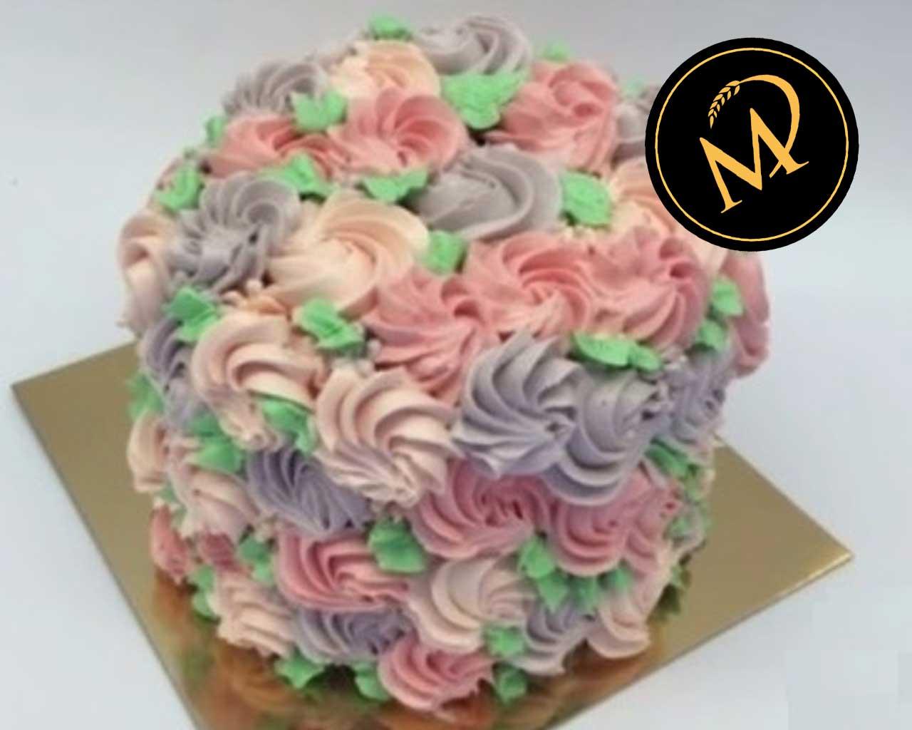 Rosen Torte mit Buttercreme - Rezept Marcel Paa