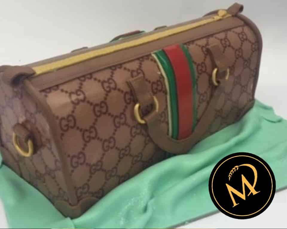 3D GUCCI Handtaschen Torte - Rezept Marcel Paa