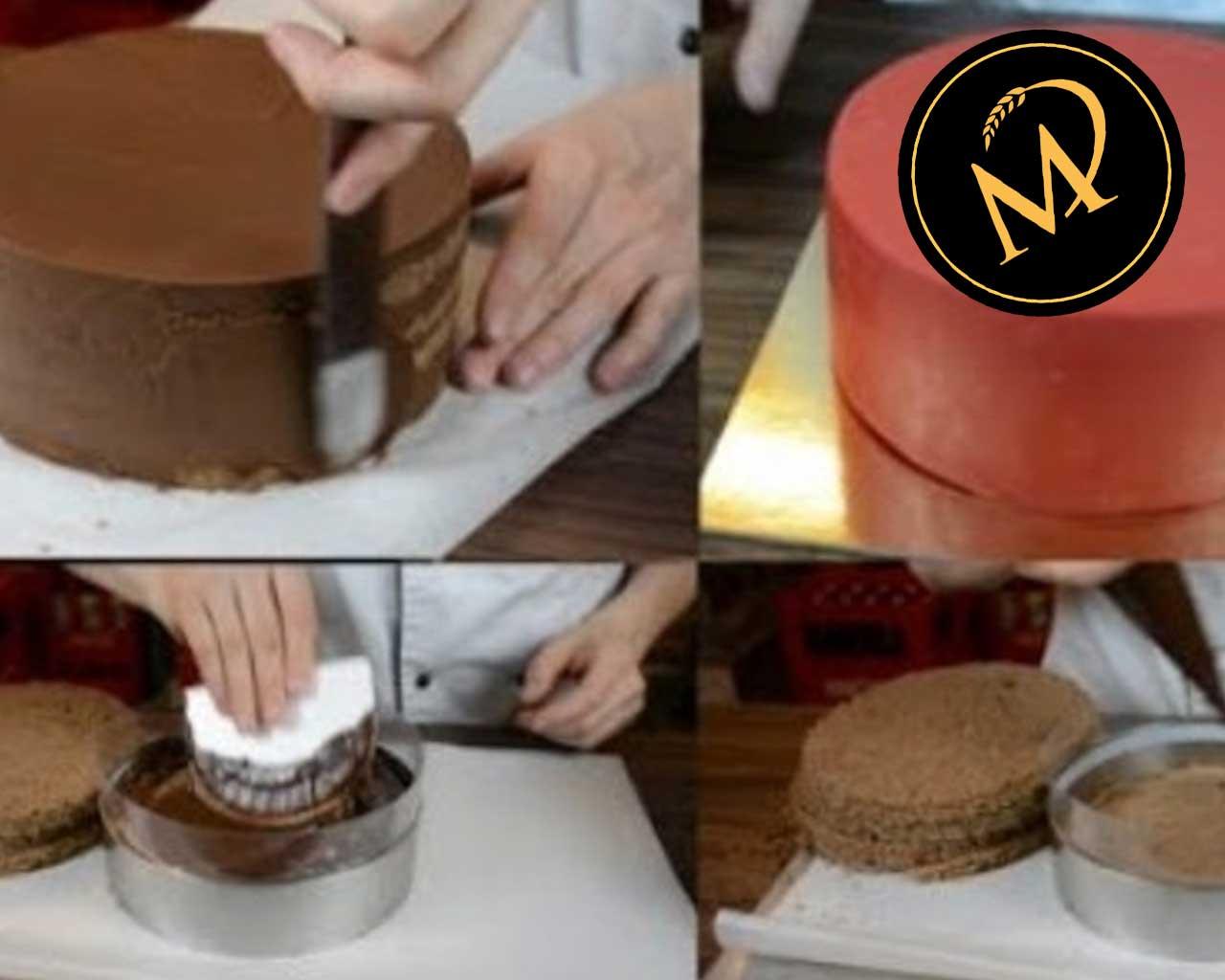 Torten richtig aufbauen - Rezept Marcel Paa