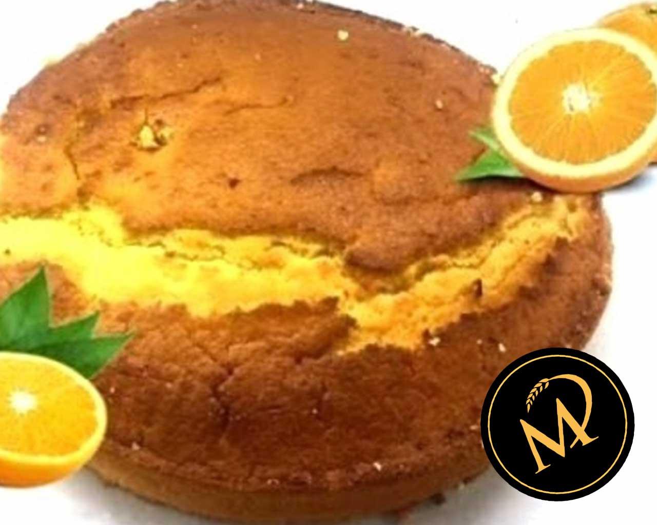 Orangen Biskuit vegan - Rezept Marcel Paa