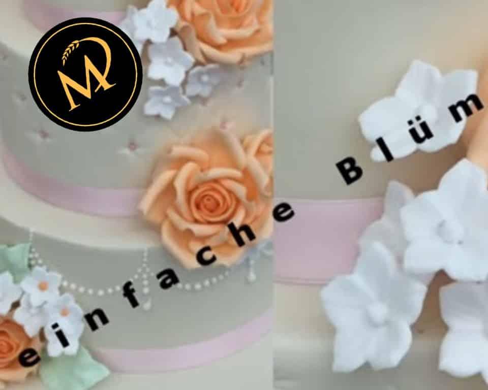Einfache Füll-Blumen aus Blütenpaste - Rezept Marcel Paa