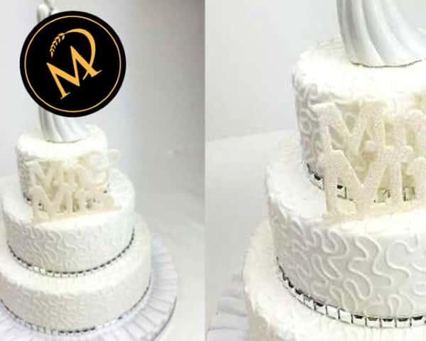 Mr und Mrs Hochzeitstorte - Rezept Marcel Paa