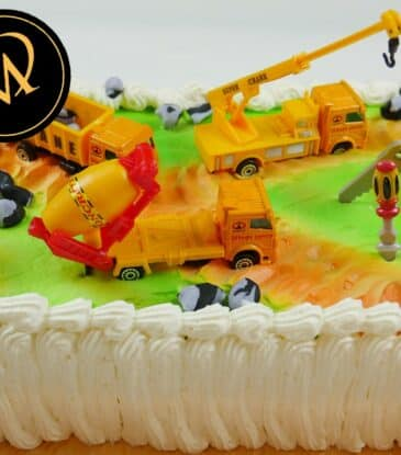Cremeschnitten Baustellen Torte