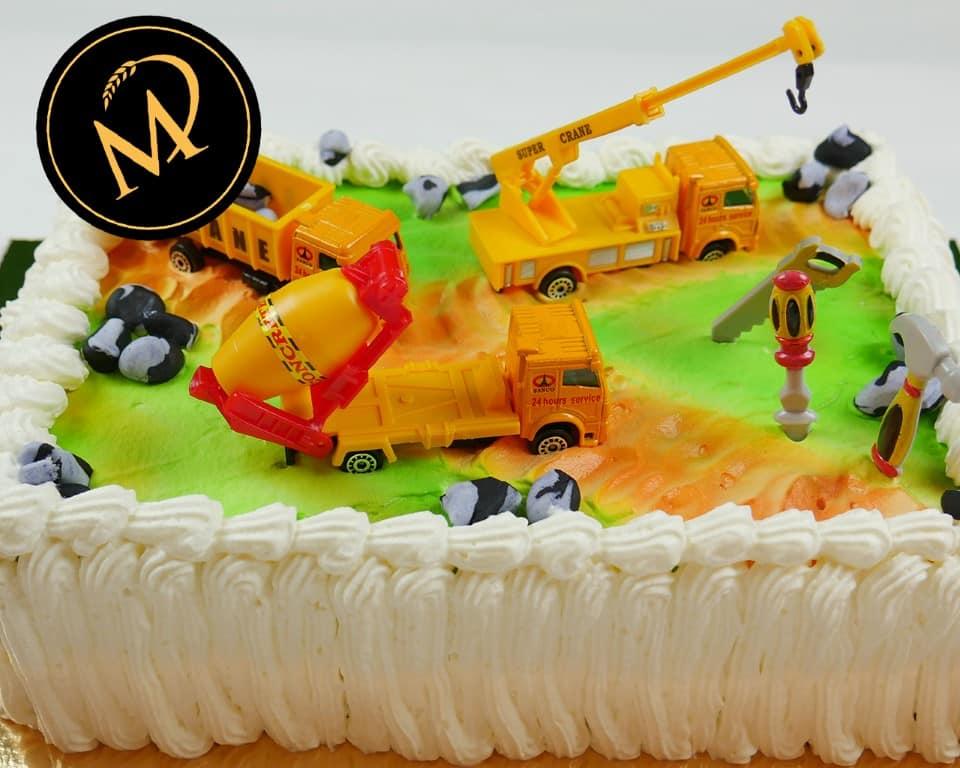 Cremeschnitten Baustellen Torte - Rezept Marcel Paa