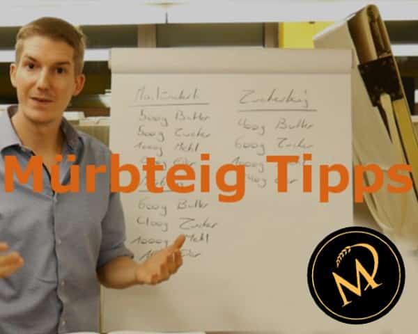 Mürbteig Tipps - Rezept Marcel Paa