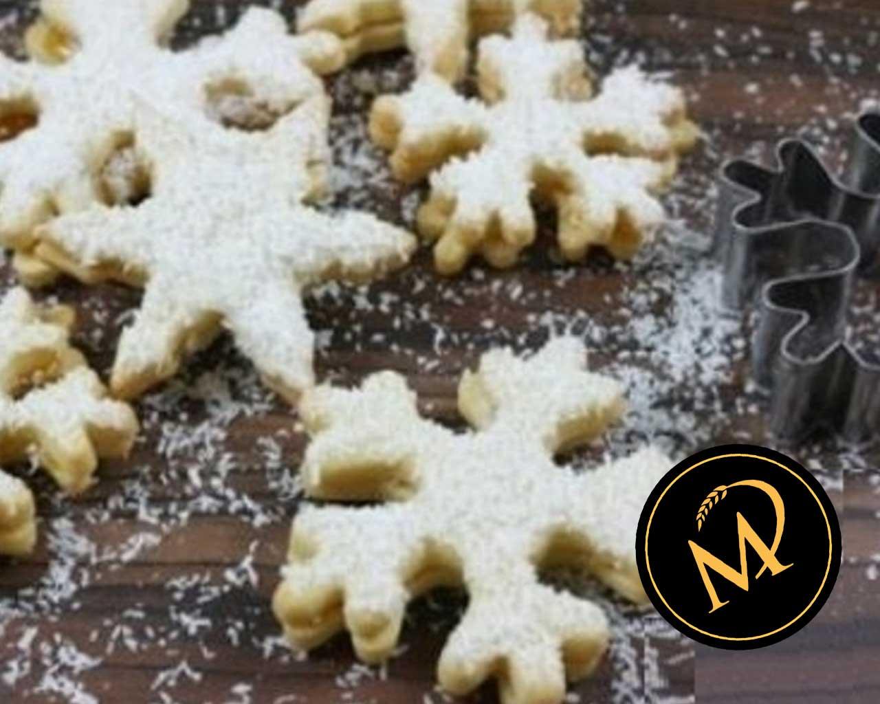 Schneeflocken Kekse - Rezept Marcel Paa