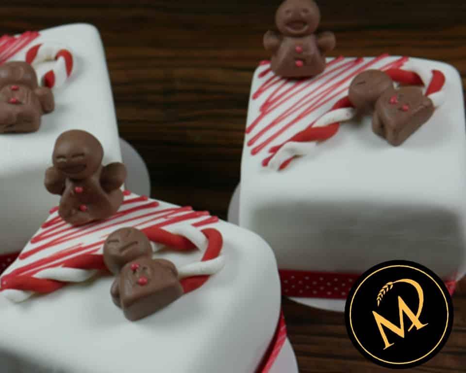 Weihnachts mini Cakes - Rezept Marcel Paa