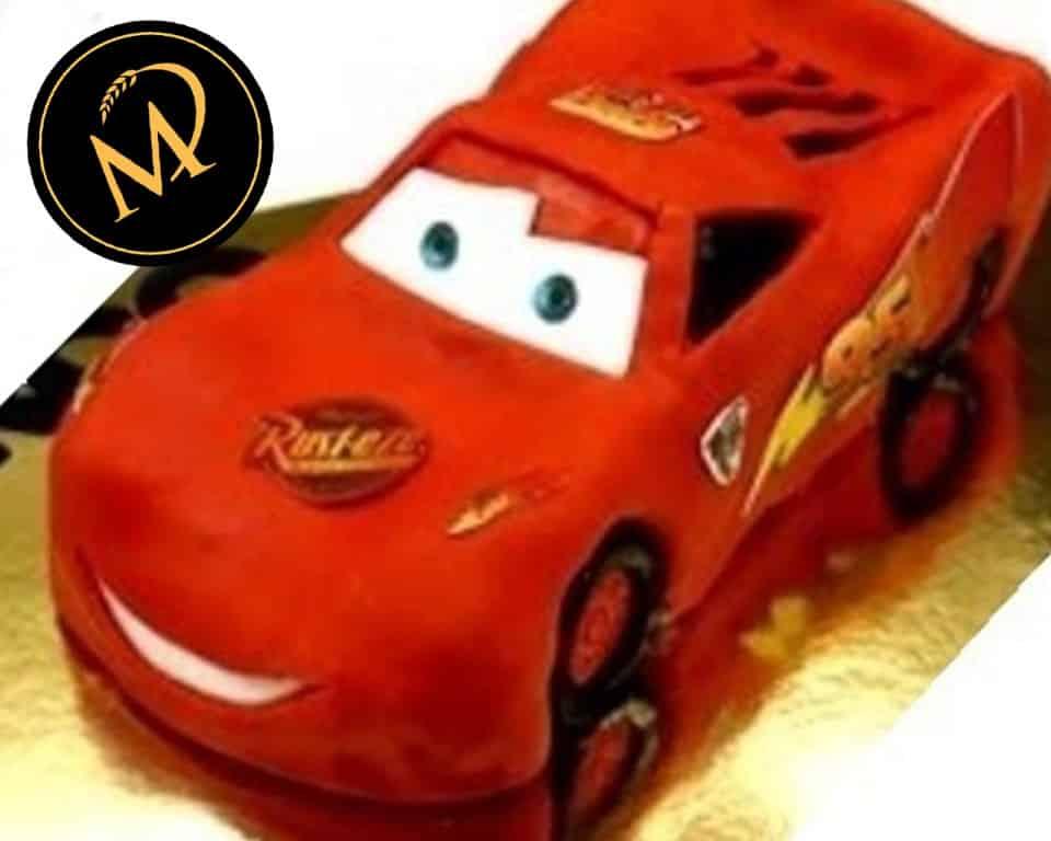 3D Cars Torte - Lightning McQueen Cake - Rezept Marcel Paa