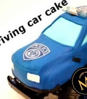3D Driving Car Cake – einfach losfahren