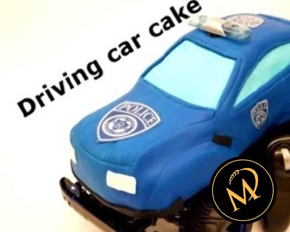 3D Driving Car Cake - Rezept Marcel Paa