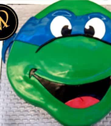 3D Ninja Turtles Torte – einfach WOW