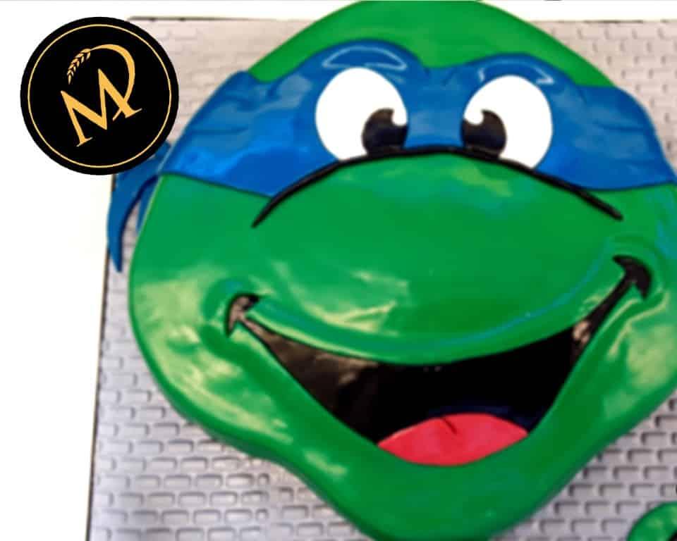 3D Ninja Turtles Torte - Rezept Marcel Paa