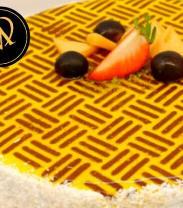 Kokos Mango Torte – einfach köstlich